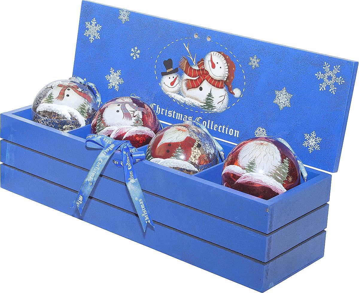 Новогодние подарки в коробочке